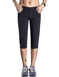Ladies' Breathable Quick Dry Slim Fit Juniors Hiking Capri Pants