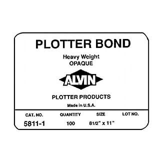 Alvin Heavy Weight Opaque plotter Bond Alvin & Company 5811-7
