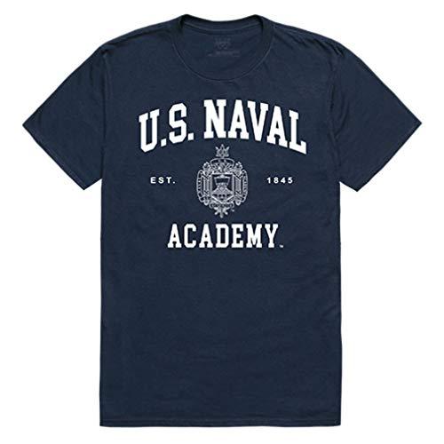 United States Naval Academy Midshipmen NCAA Seal Tee T-Shirt Navy XXL