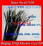 Fevas High Precision NTC thermistor Temperature Sensor 20K 1% Precision Temperature Probe Length 1 Meters Waterproof