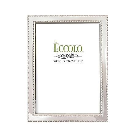 "Eccolo World Traveler Sp298 5 X 7"" Dashed Edges Photo Frame by Eccolo World Traveler"
