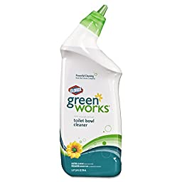 Green Works CLO 00451 CLO00451CT Toilet Bowl Cleaner, 24 oz. Squeeze Bottle (Pack of 12)