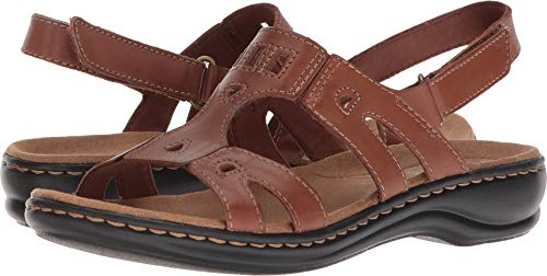 Annual Sandal, tan Leather, 7.5 Medium US ()
