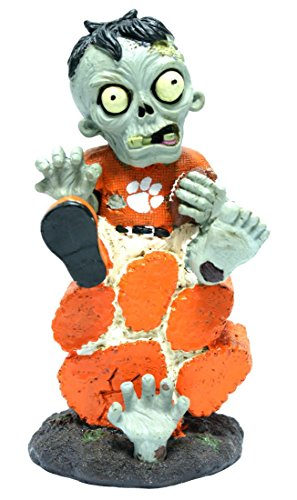 Clemson Sitting On Logo Zombie With -