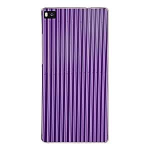 "Disagu Design Protective Case para Huawei P8 Funda Cover ""Blechoptik Lila"""