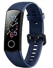 HONOR Band 5 Smartwatch SpO2 (zuurstof) en hartslagmonitor, smartwatch met slaapmonitor, fitnesstracker gezondheid.