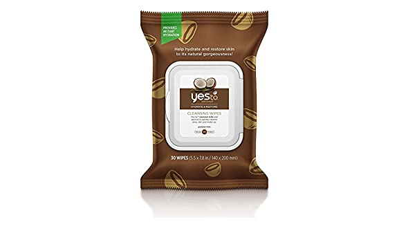 Yes To Coconut Hydrate & Restore Cleansing Wipes 25ct + Makeup Blender First Aid Beauty Oh So Fab Kit
