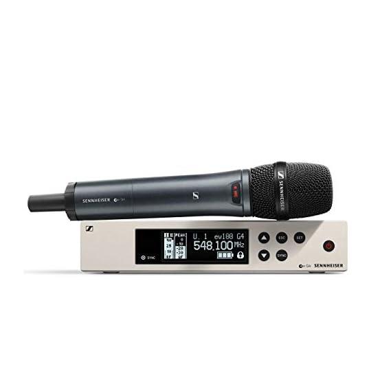 Sennheiser Pro Audio Sennheiser EW 100-865S Wireless Condenser Supercardioid Microphone System-A1 Band (470-516 Mhz