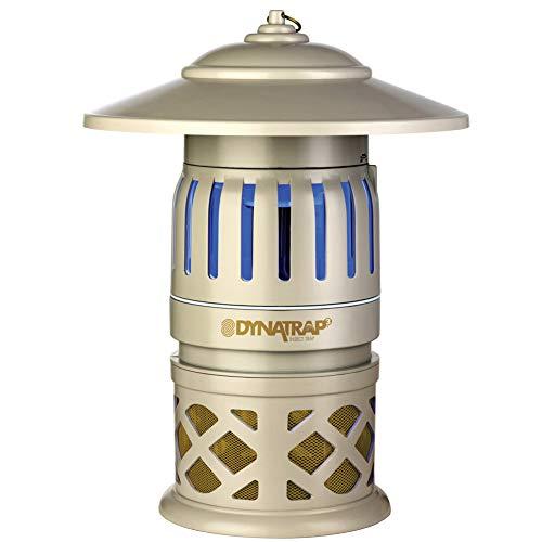 Dynatrap DT1050-DEC Outdoor Insect Trap (DT1050-DEC2), 1/2 Acre, White ()