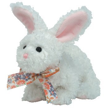b03ee5aa313 TY~NIBBLE THE BUNNY BEANIE BABY  Amazon.co.uk  Toys   Games