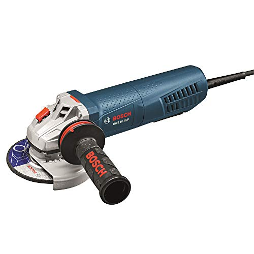 Bosch GWS1045PRT 10 Amp 4-1 2 in. Angle Grinder with Paddle Switch Renewed