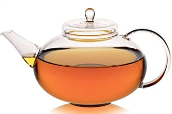Glas Teekanne glas teekanne grandioso 1 4l amazon de küche haushalt