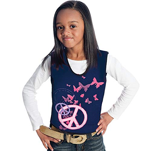 (Fun and Function's Peace Graphic Weighted Vest - Helps With Mood & Attention, Sensory Over Responding, Sensory Seeking, Travel Issues)