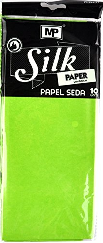 MP pn221 - 17 - Pack of 10 Sheets of Tissue Paper, 50 x 66 cm, pistachio