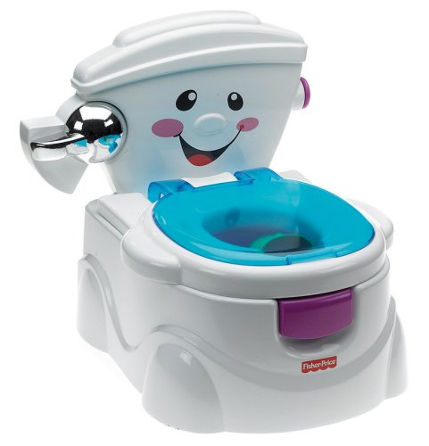 Mattel Fisher-Price P4326 - Meine erste Toilette, Töpfchen