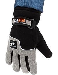 Gloves,toraway Windproof Men Thermal Winter Outdoor Sports Gloves Mitten