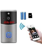 Wireless Doorbell, AUNEX Door Chime Indoor Ringer for Video Doorbell Instant Caller for The Old, Children, Pregnant Women and Physical Therapy Patients