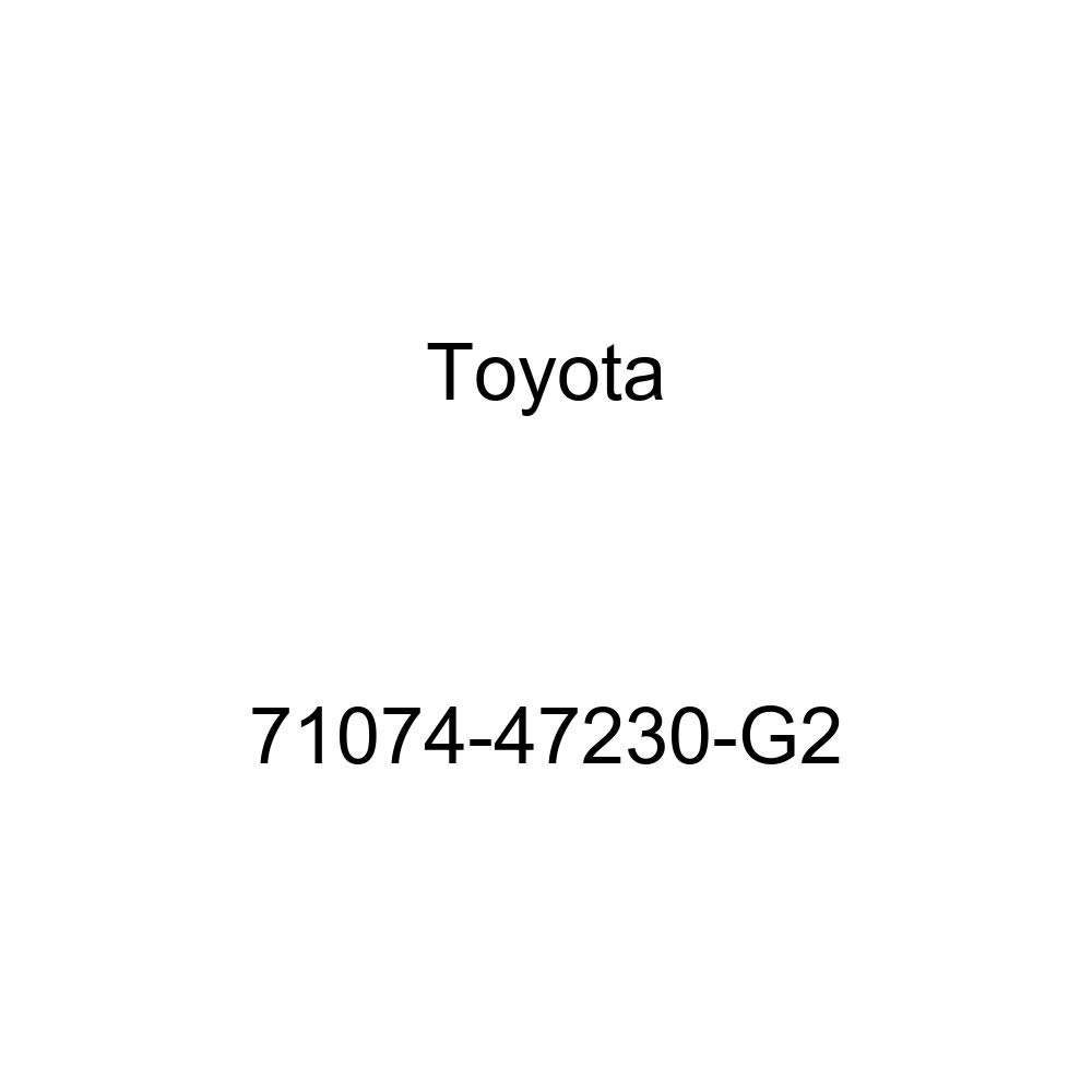 TOYOTA Genuine 71074-47230-G2 Seat Back Cover
