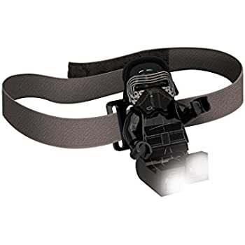 LEGO Star Wars Head Lamp - Kylo Ren LED Light with Elastic Headband
