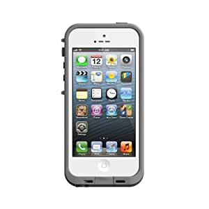 LifeProof 1320-02 - Funda impermeable para Apple iPhone 5, color blanco y gris