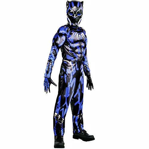 HalloCostume Boys Black Panther Costume - Black Panther