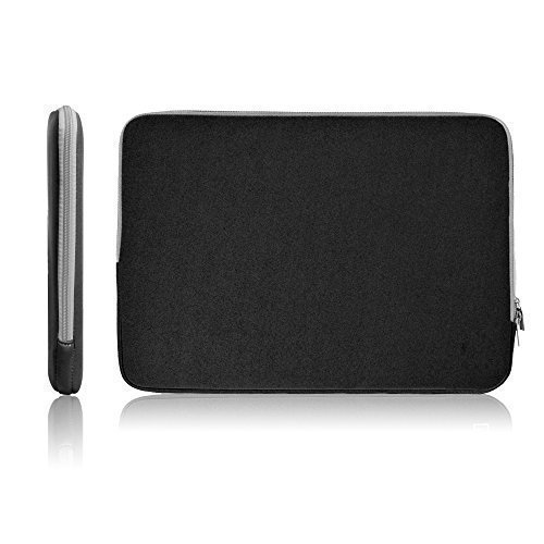 17 - 17.3 Inch Neoprene Laptop Sleeve Bag Carrying Case/Notebook Computer Case/Tablet Briefcase Carrying Bag/Pouch Skin Cover For Acer/Asus/Dell/Fujitsu/Lenovo/HP/Samsung/Sony Universal Sleeve ()