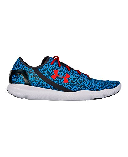 Under Armour Men's UA SpeedForm Apollo Graphic Running Shoes 10 ELECTRIC BLUE