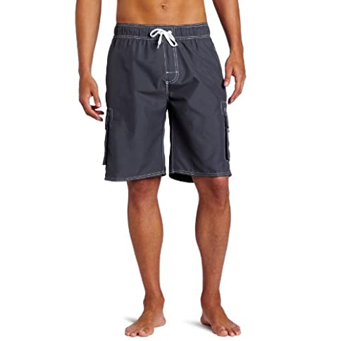 - 41HAJq5BIrL - Kanu Surf Men's Barracuda Swim Trunks (Regular & Extended Sizes)