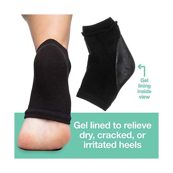 Cracked Heels While You Sleep