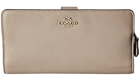 Coach 51936 Madison Stone Smooth Leather Skinny Wristlet - Coach Madison Leather Wristlet