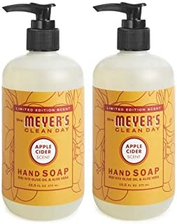 product image for Limited Edition Scent Mrs. Meyer's - Apple Cider Hand Soap 12.5oz -2-PACK