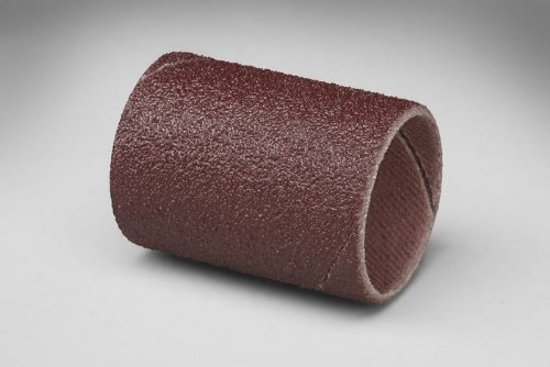 3M Coated Aluminum Oxide Spiral Band - 50 Grit - 1 1/2 in Width - 1 in Dia - 10000 Max RPM - 27445 [PRICE is per CASE]