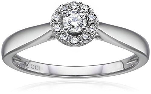 Diamond Halo Ring - 4