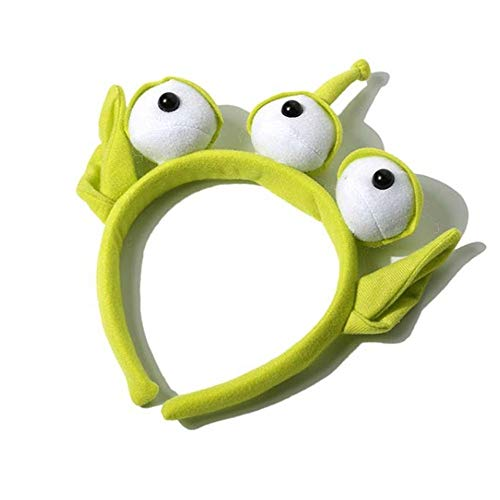 1 pcs Novelty New Toy Story Alien EARS COSTUME Plush HEADBAND ADULT OR CHILD Party Cosplay Gift -