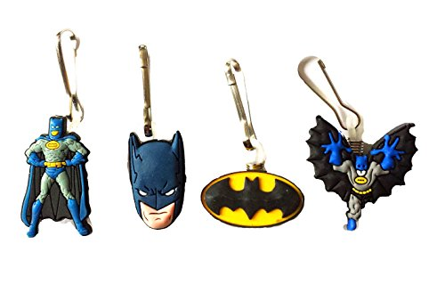 [AVIRGO 4 pcs Zipper Pull / Zip pull Charms for Jacket Backpack Bag Pendant Set # 15-2] (Easy Bane Costumes)