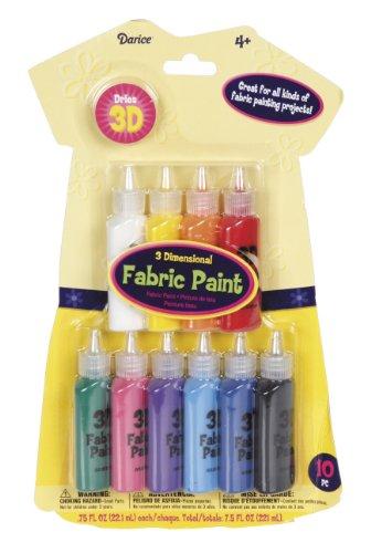 darice-fab106-value-pack-3d-fabric-paint-set-10-colors