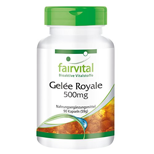 Royal Jelly extract 500mg - for 1 month - HIGH DOSAGE - 90 capsules -...