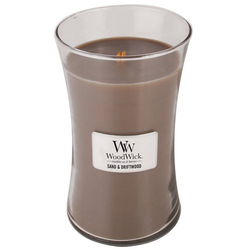 WoodWick Candle, Sand and Driftwood, Large