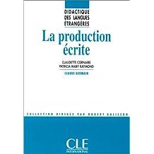 La production écrite