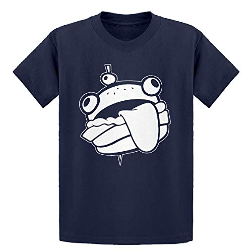 Indica Plateau Youth Durr Burger Youth S - (6-7) Navy Blue Kids T-Shirt