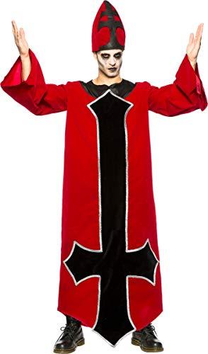 Seeing Red Men's Evil Bishop Costume Large/X-Large