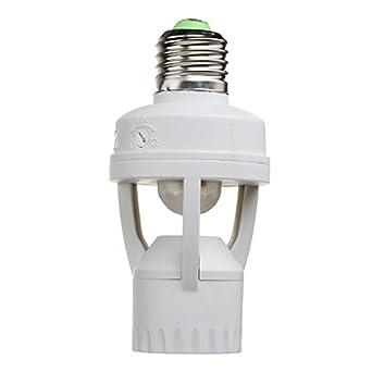 Wohnmöbel 360 Grad 60 W Pir Induktion Led-lampe Motion Sensor Ir Infrarot Menschlichen E27 Steckdose Schalter Basis Licht Lampe Halter Möbel