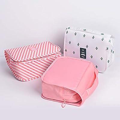 Amazon.com: Bolsa de aseo para colgar, portátil, para colgar ...