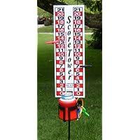 ScoreTower - Marcador y marcador de bebidas para la bola de bocce