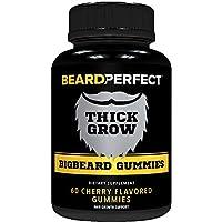 THICKGROW BIGBEARD Gummies - Get a Stronger, Longer, Thicker Beard - Beard Growth...