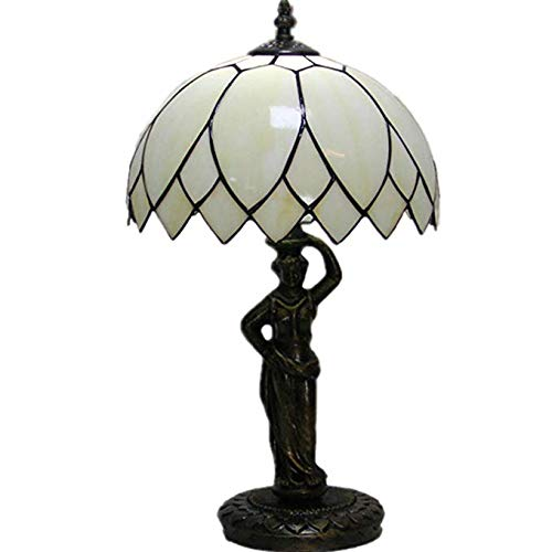 Carl Artbay Tiffany Simple Lotus Leaf Lamp Bedside Lamp Living Room Lamp