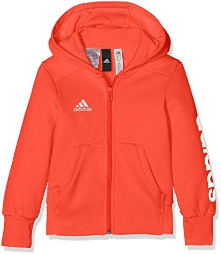 Davanti Bambina Adidas Felpa Linear Fz correa Aperta Mod Hd Yg Per Bianco Multicolore ZWWwxTq4
