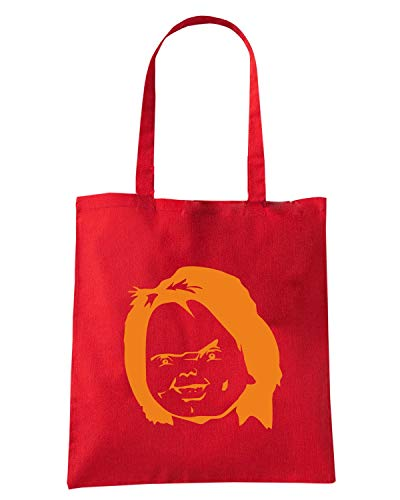 CHUCKY Borsa Shopper FUN1008 Rossa Speed Shirt 5qxYXwEO