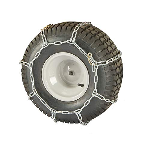 "CUB CADET Arnold 22-23"" x 9.5"" Rear Tire Chains XT1, XT2, Z-Force, LGT, LGTX and Other Lawn Tractors / 490-241-0025"