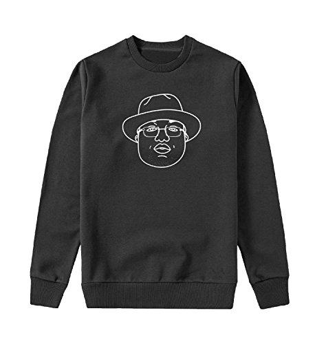 d5c456b4f5f D-Boy Fan Art Face Sweater Unisex Sweatshirt for Men and Present LG Black